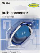 RBH004 H4 CERAMIC BULB HOLDER - ANGLED CABLE